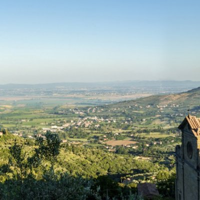 Panorama view from Cortona