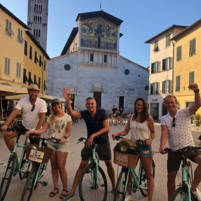 Lucca bike tour with Alexandra