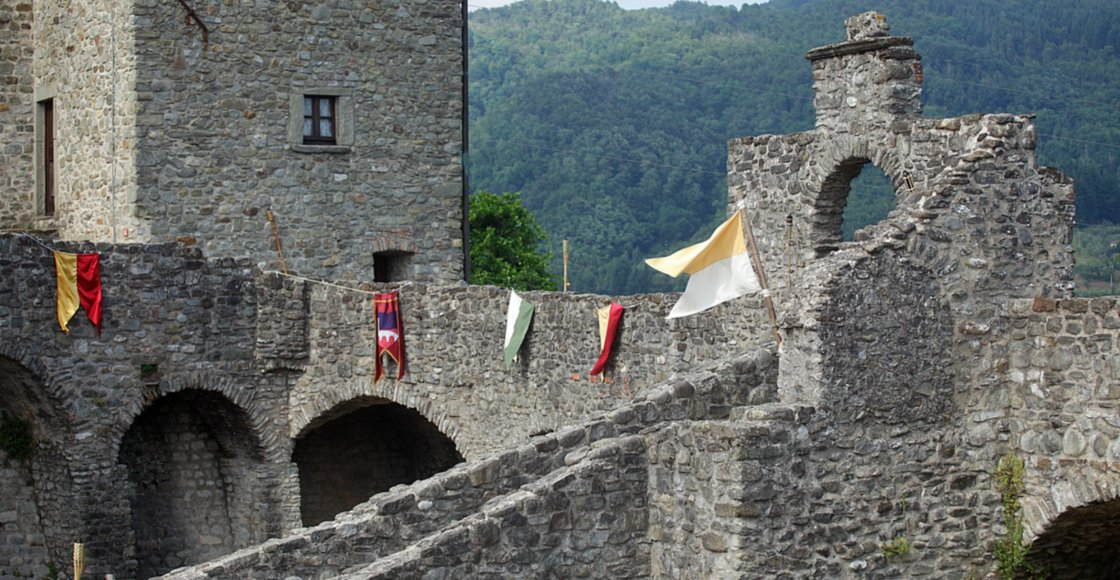 Piagnaro Castle in Pontremoli