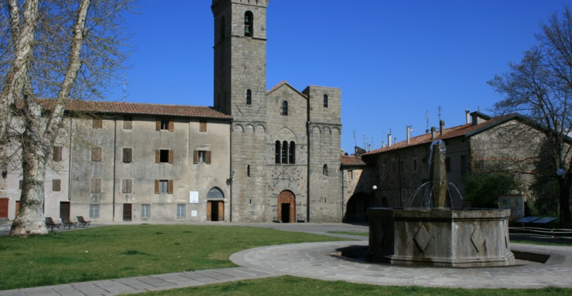 San Salvatore abbey in Abbadia San Salvatore