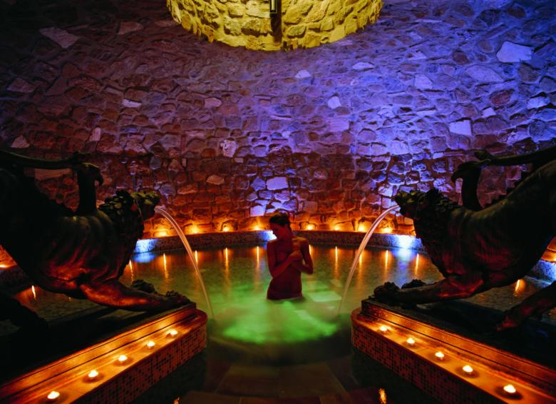 Salt Grotto in the Hotel Adler