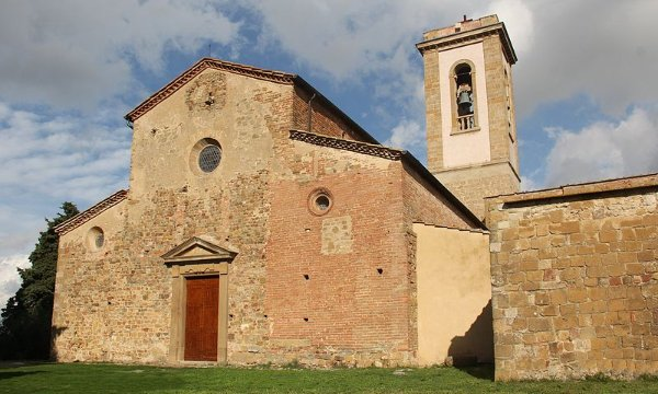 Sant'Appiano Church in Barberino Val d'Elsa
