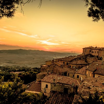Sunset in Volterra