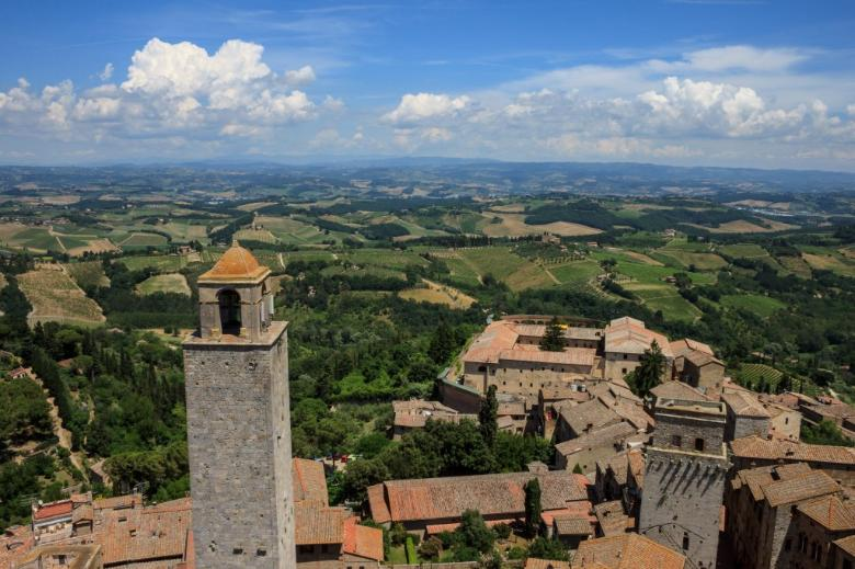Do you like the view from the Torre Grossa in San Gimignano?