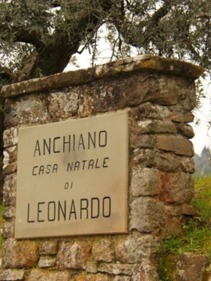 At Leonardo's Birthplace