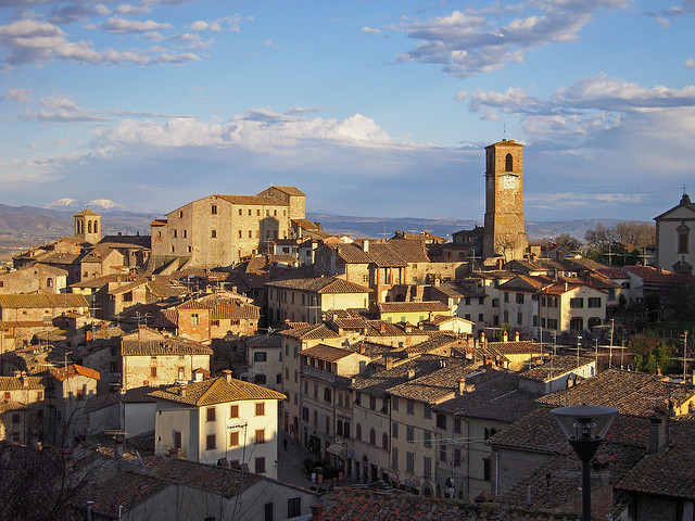 Anghiari view [Photo Credits: Monica Arellano-Ongpin http://ow.ly/gERBK]