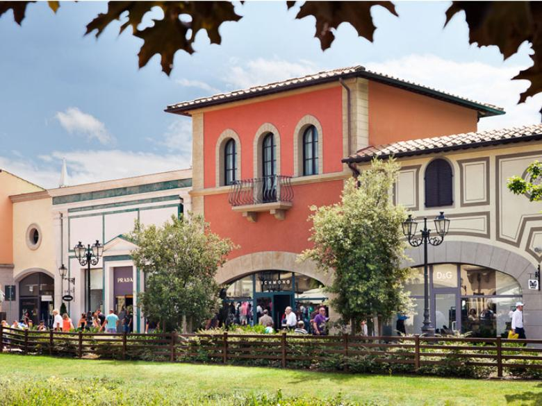 A view of the barberino designer outlet