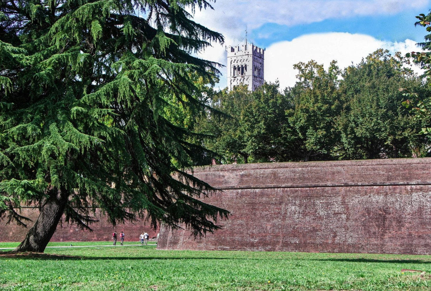 Lucca's walls