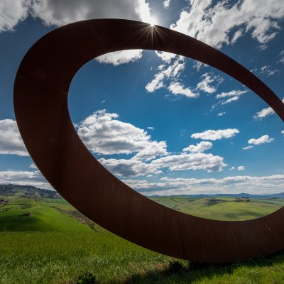 Contemporary art in the surroundings of Volterra by Mauro Staccioli