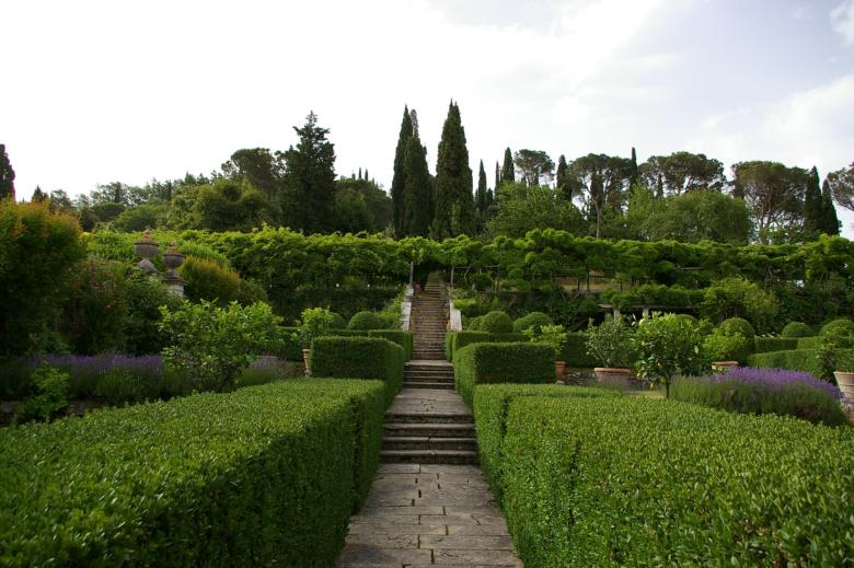 Garden at Villa La Foce