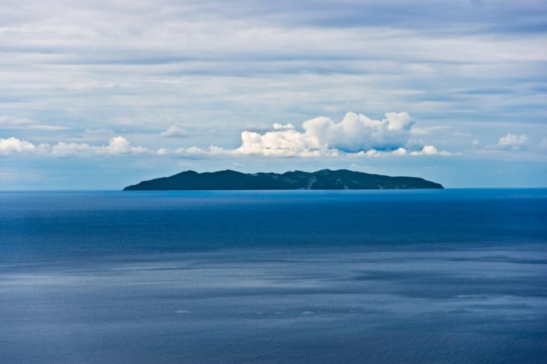 The Island of Capraia, seen from Elba