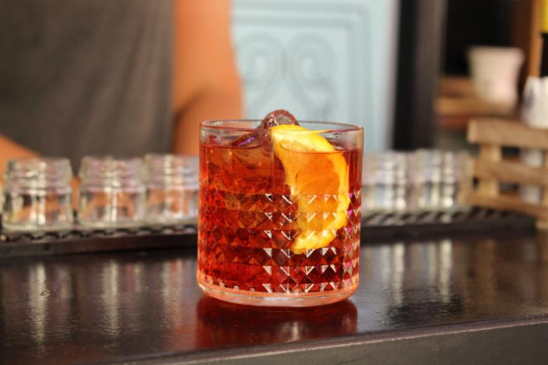 Negroni, photo taken at Bar Le Nuvole in Florence