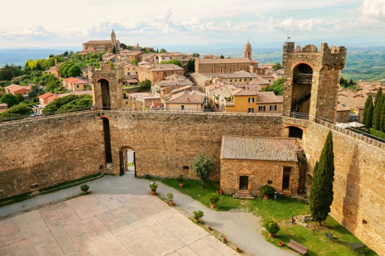 Fortress and city of Montalcino