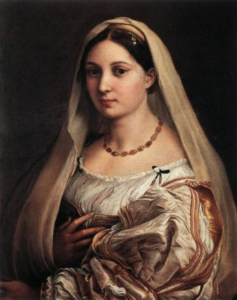 La Velata by Raphael in the Palatine Gallery