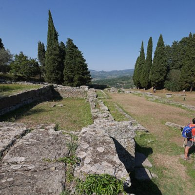 Archaeological area in Fiesole
