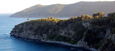 Campo nell'Elba by the sea