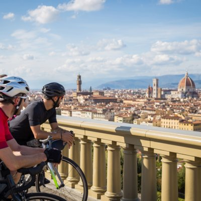 A Firenze in bicicletta