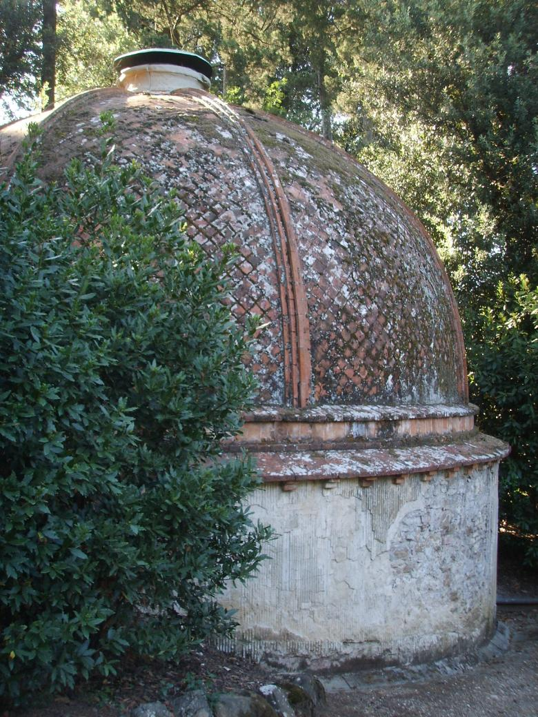 The ice houses in Boboli