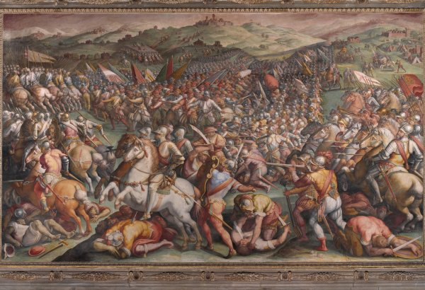 Giorgio Vasari, the battle of Marciano in Val di Chiana