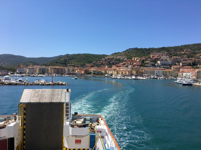 Giglio Island from a ferry