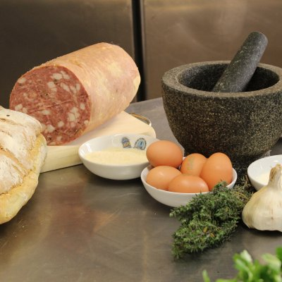 Prato mortadella meatballs ingredients
