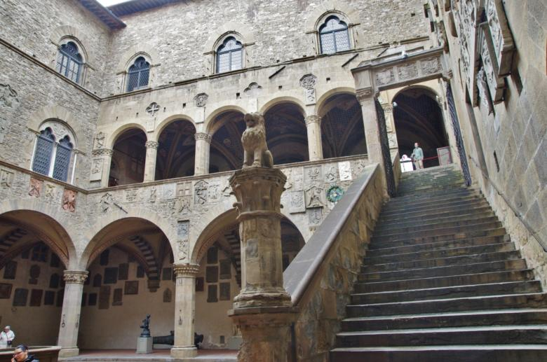 Bargello courtyard