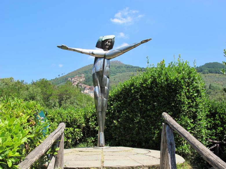 Statue of the Blue Fairy inside the Park