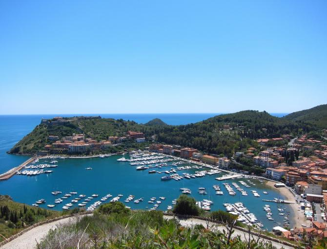 Porto Ercole (from Forte Filippo)