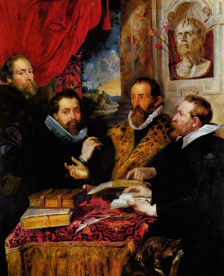 The Four Philosophers by Rubens