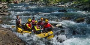 rafting in Garfagnana