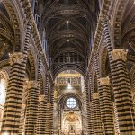 Inside the Siena Cathedral