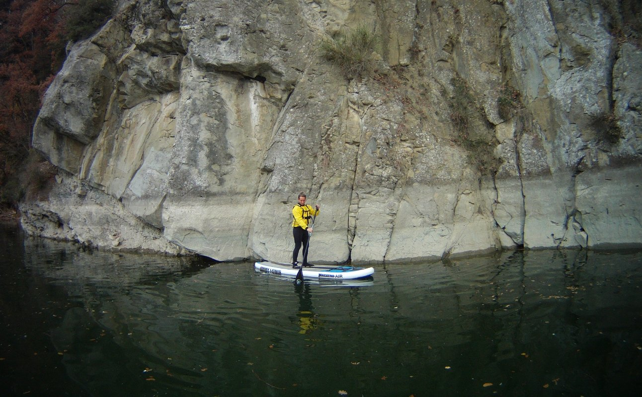 SUP experience in the Valdarno area