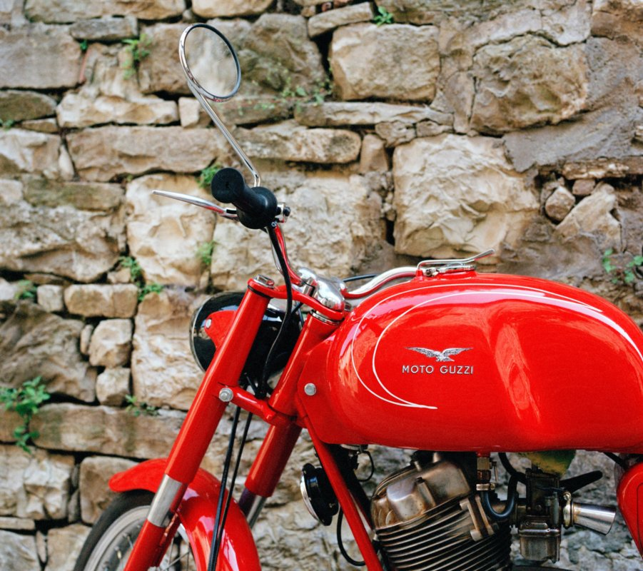 Tuscany by motorcycle - top