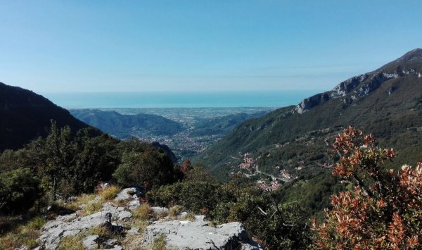 Camaiore valley view
